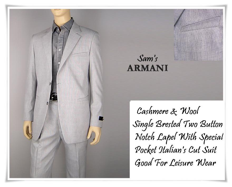 Sam Cerruti Custom Tailors Custom Men Suit Armani S Cut
