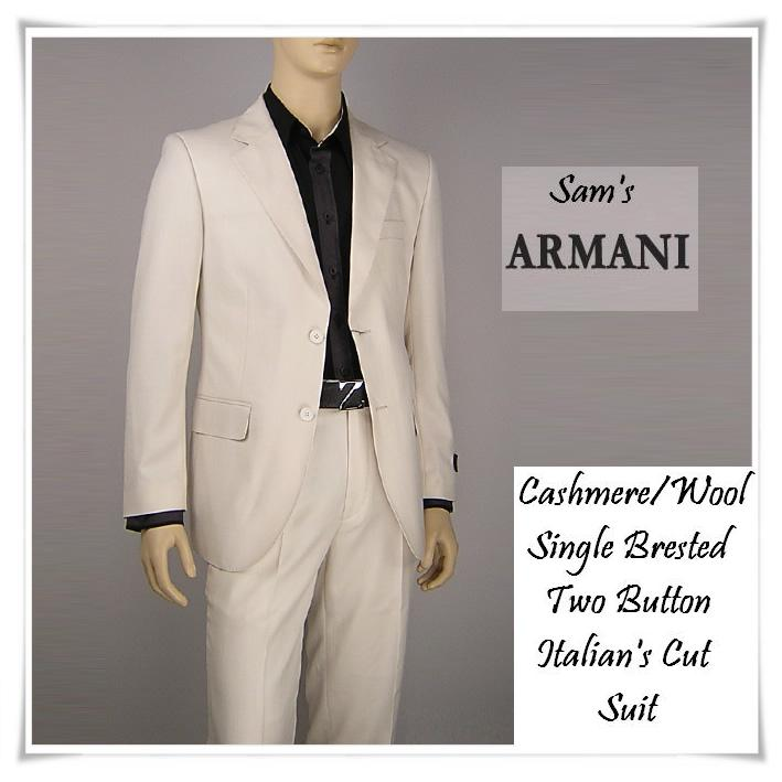 Custom MEN SUIT (ARMANI'S CUT