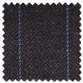 superfine medium stripe wool and cashmere fabric for smart business outfits