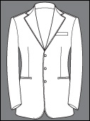 Custom Single Breasted 3 Button Cashmere Wool Bespoke Suits