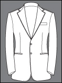 Custom Single Breasted 2 Buttons Cashmere Wool Bespoke Suits