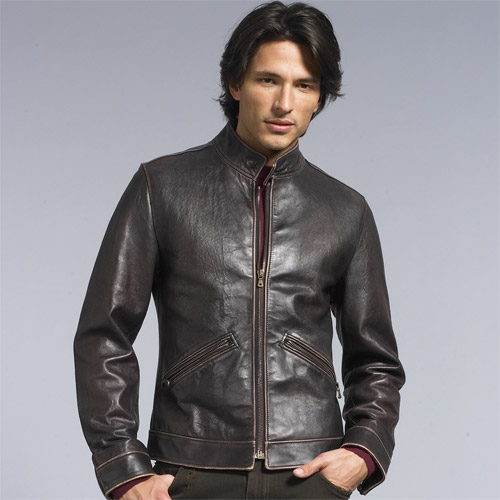 Light weight genuine lamb leather, silk lining , and all season wear sportive