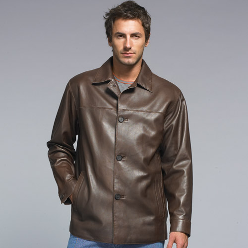 Stylish and modern leather wear of year 2009 - 2010 jacket Boss and Armani style